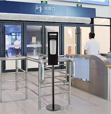 мобильные стойки для автоматических санитайзеров