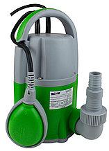 Насос дренажный (5мм) Vodotok Q7508-1 (750Вт, 12,5м3/ч, H-8,5м, лин.размер до 5мм, кабель 10м)