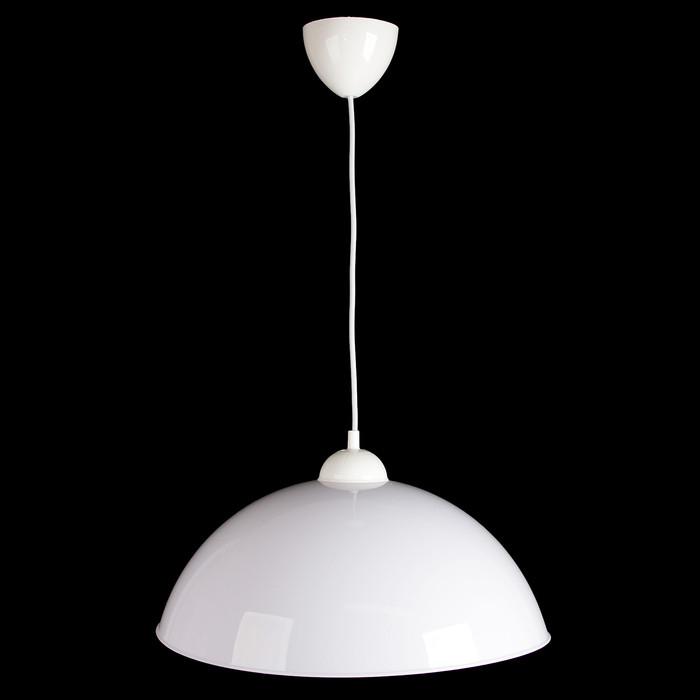 """Люстра подвес """"Сафари 2"""" 1 лампа 40W E27 белый"""