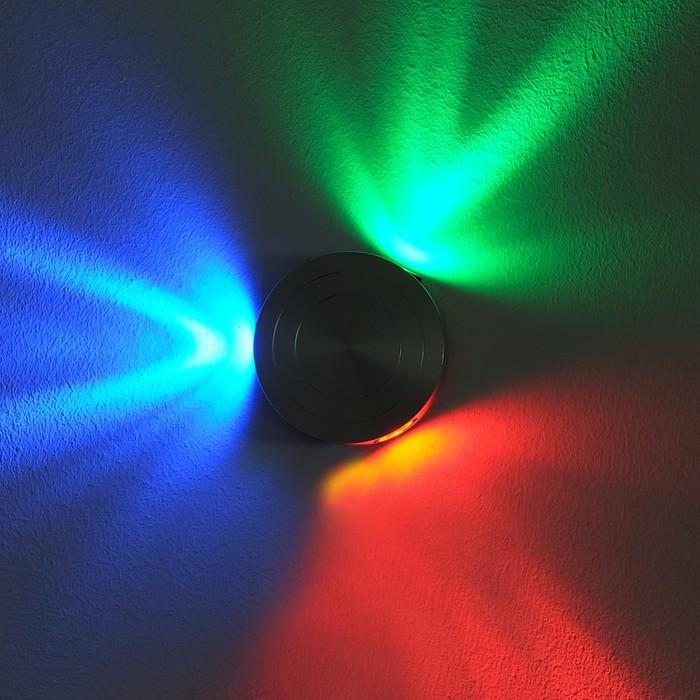 """Светильник 86455/3 """"Байон"""" 3x1W LED 9x3x9 см"""