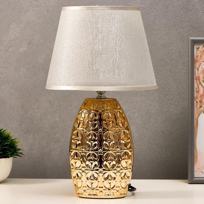 Лампа настольная 7515123TL/1 E14 40Вт золото 22,5х22,5х38 см