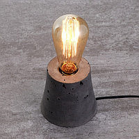 Настольная лампа 4431/1 E27 60Вт серый, диммер 10х10х10 см, фото 1