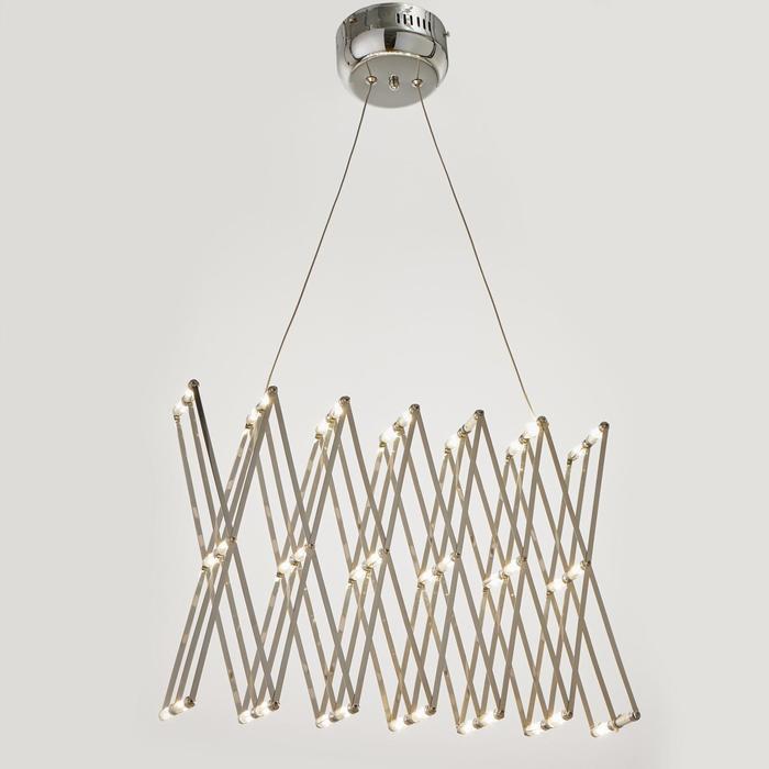 Светильник 85703/1 40хLED 40Вт хром 9,5х9,5х33,5-180 см
