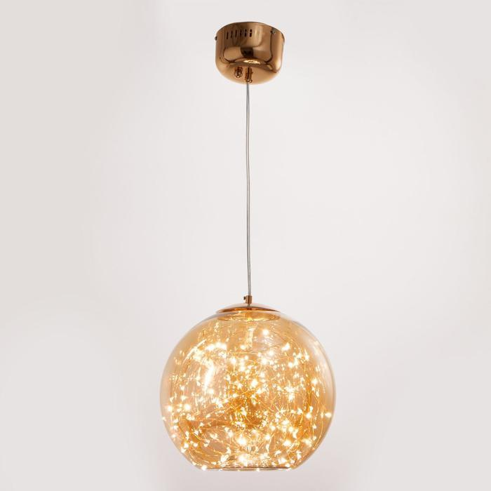 Светильник 59920/1 LED 24Вт 3000К золото 28х28х28-108 см