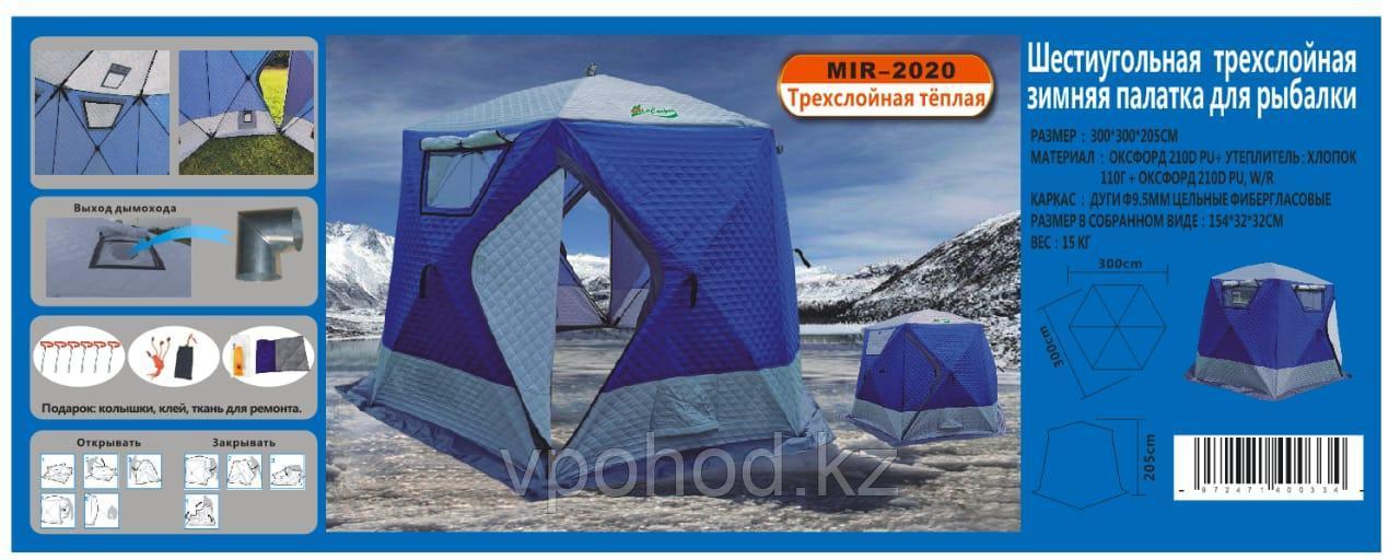 Палатка для зимней рыбалки MIMIR 2020 - фото 5