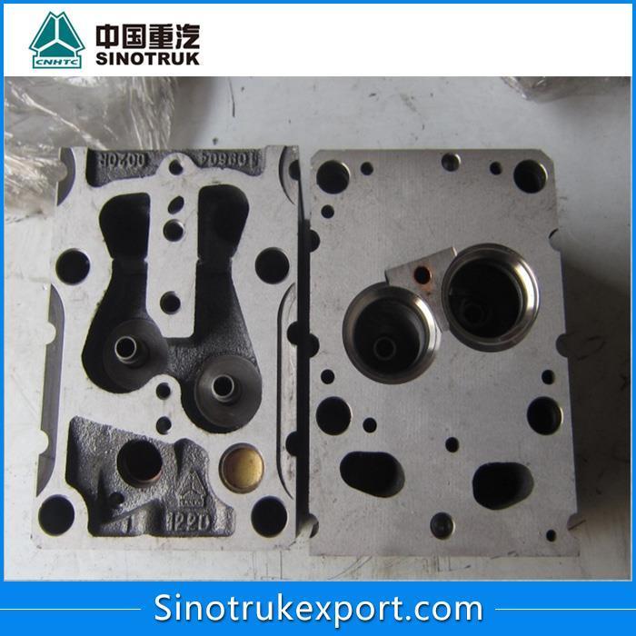 Головка блока с клапанами на двигатель Weichai 61560040040A/61260004015R/6150040040R