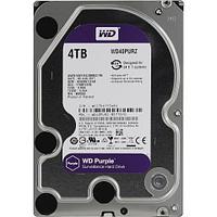 "Внутренний жесткий диск 4Tb HDD Western Digital WD40PURZ, 3.5"", 64Mb, SATA III"