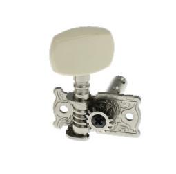 Правый одиночный колок, никелированный, без втулки, Alice AOD-014A(R)
