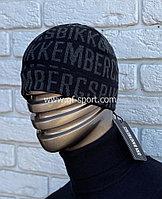 Шапка Bikkembergs черная