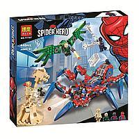 Конструктор BELA Super Heroes Паучий вездеход 11187 (Аналог LEGO 76114)