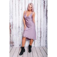 """Платье женское MINAKU """"Леопард"""", размер 42, цвет сиреневый, фото 1"""