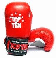 Боксерские перчатки кож/зам