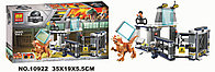 Конструктор Bela Dinosaur World Побег стигимолоха из лаборатории 10922 (Аналог LEGO Jurassic World 75927)