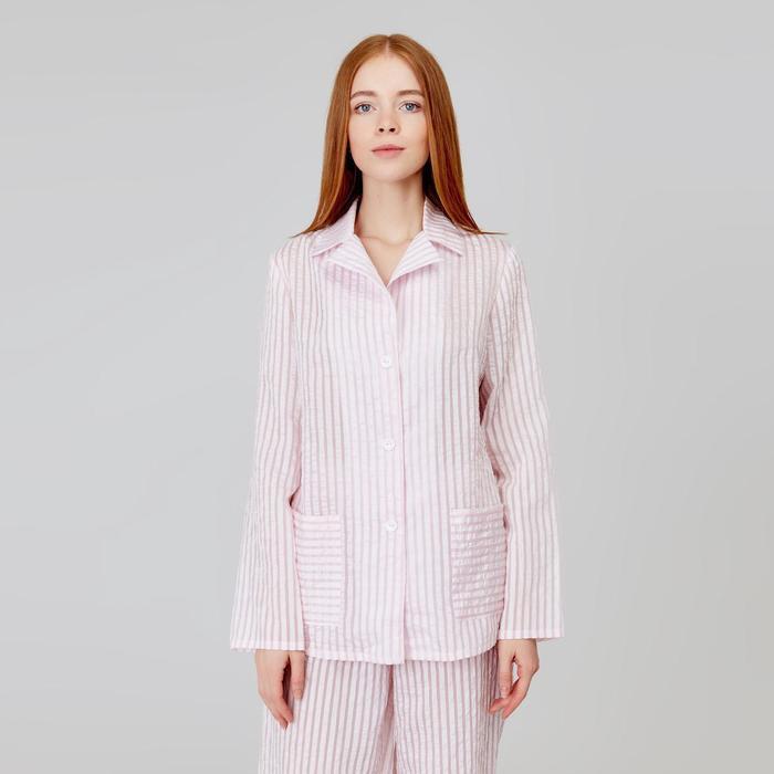 Рубашка женская MINAKU: Light touch цвет розовый, р-р 50