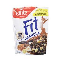 Гранола Sante Fit без добавления сахара с орехами и какао, 300 г