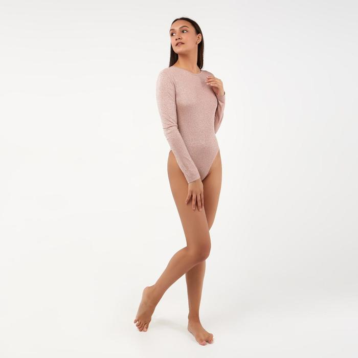 Боди женский MINAKU: Trend zone, цвет розовый, размер 42