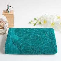 Полотенце махровое Mano 70х130 см, цвет морская волна, фото 1