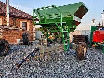 Прицепной разбрасыватель удобрений 2500л (Фермер), фото 2