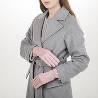 Перчатки жен, 23,5 см, утеплитель иск мех, классика, розовый, фото 1