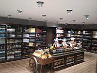 Изготовление торгового оборудования и мебели для ресторанов , баров , кафе и магазинов.