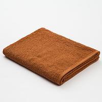 Полотенце махровое «Экономь и Я», 70х130 см, цвет молочный шоколад, фото 1