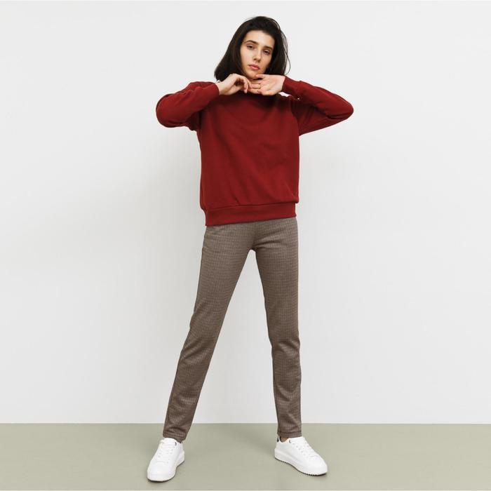 Джемпер женский, цвет бордовый, рост 164-170 см, размер 52 (2XL)