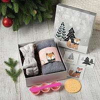 "Набор подарочный ""Happy new year"" полотенце и акс, фото 1"