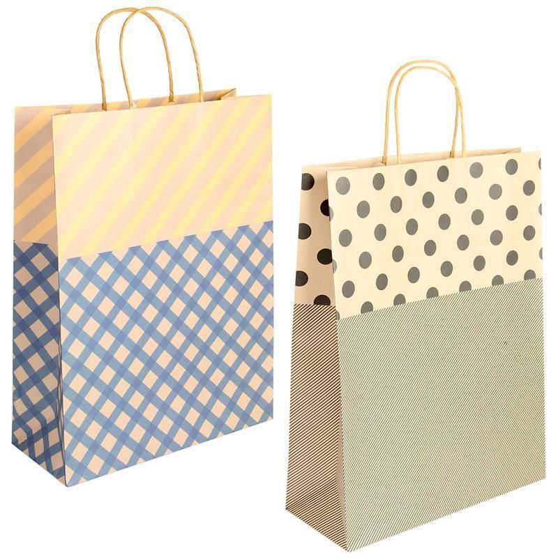 Подарочные крафт пакеты