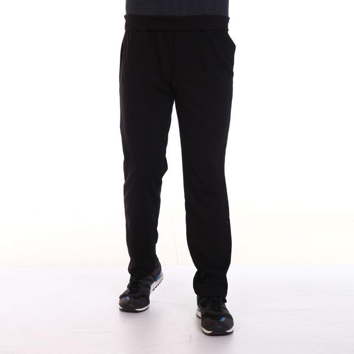 Брюки мужские BASIC, цвет чёрный, размер 52