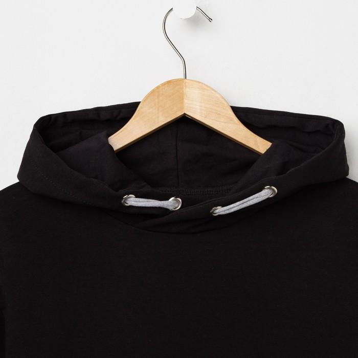 Худи мужское VOLK, цвет чёрный, размер 44 - фото 3