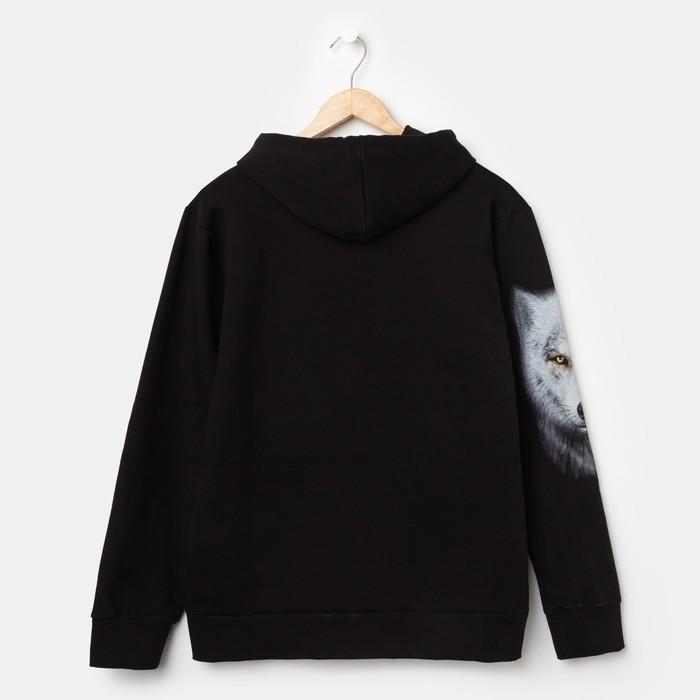Худи мужское VOLK, цвет чёрный, размер 46 - фото 4