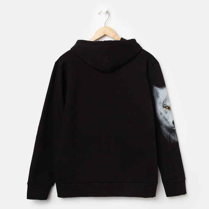 Худи мужское VOLK, цвет чёрный, размер 48 - фото 4