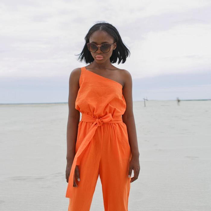 Комбинезон женский MINAKU:Safari цвет оранжевый, р-р 44