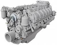 Двигатели ЯМЗ семейства V12
