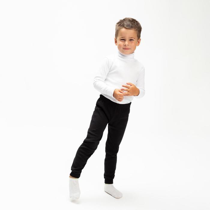 Водолазка детская, цвет белый, рост 128 см (8)