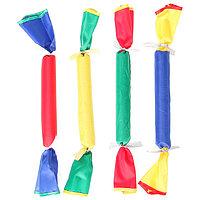 «Конфеты» эстафетные мягкие, длина 25 см, набор из 4 штук, цвета микс