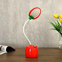 Лампа настольная 85291/1 LED 3Вт USB AKB красный 9х7х36 см