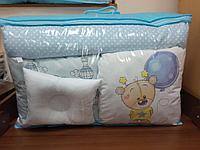 Детское постельное белье КПБ 17 предметов Мишка с шариком