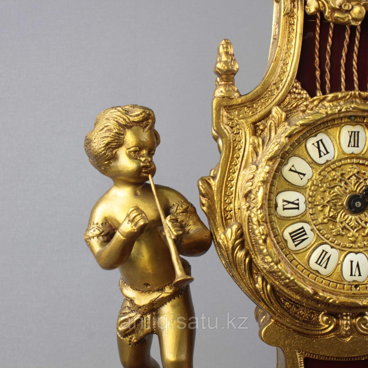 Дворцовые каминные часы. - фото 4