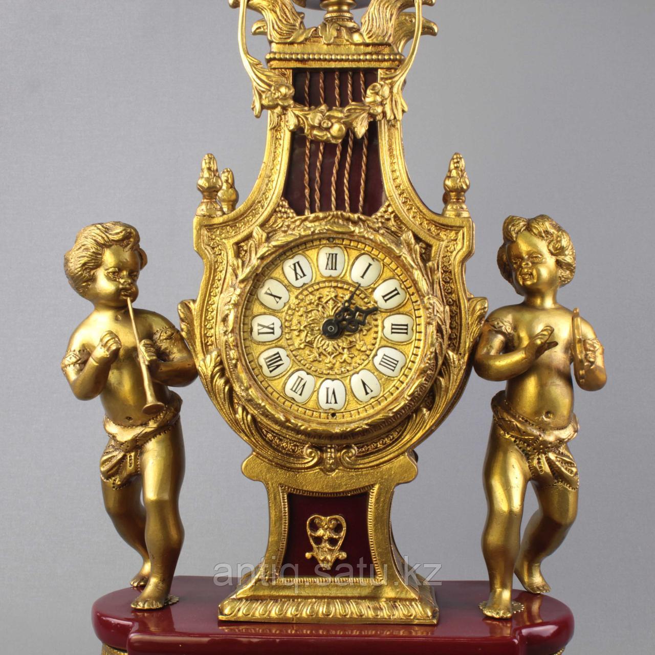 Дворцовые каминные часы. - фото 5