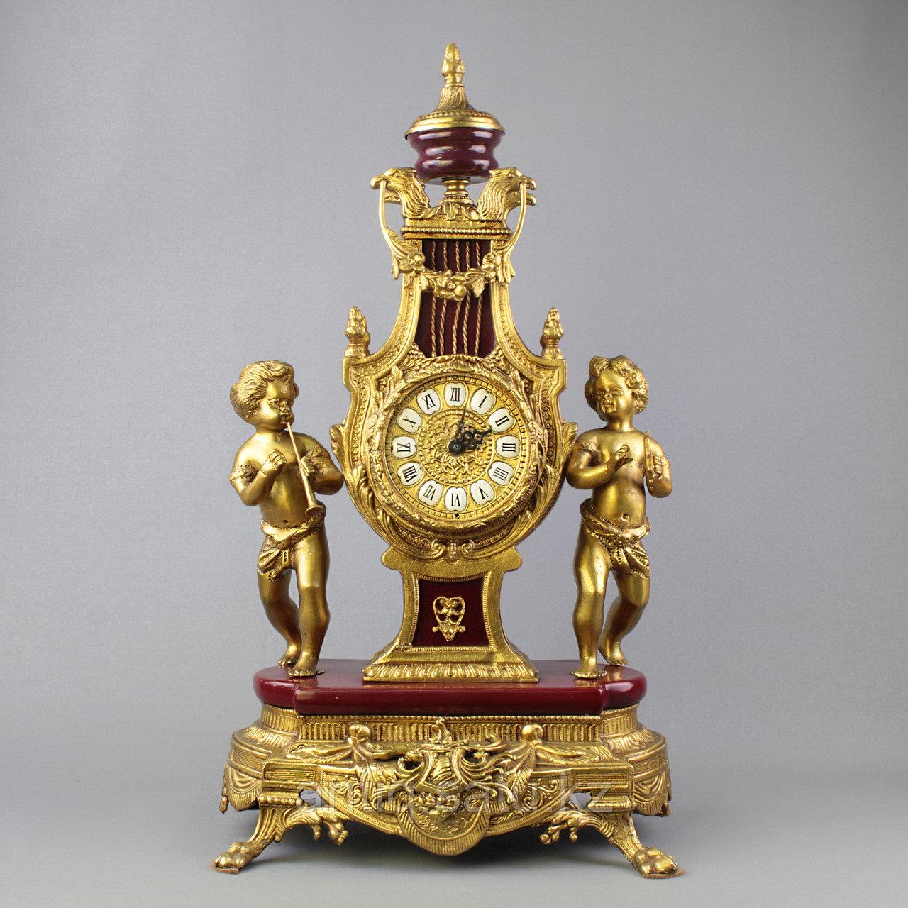 Дворцовые каминные часы. - фото 1