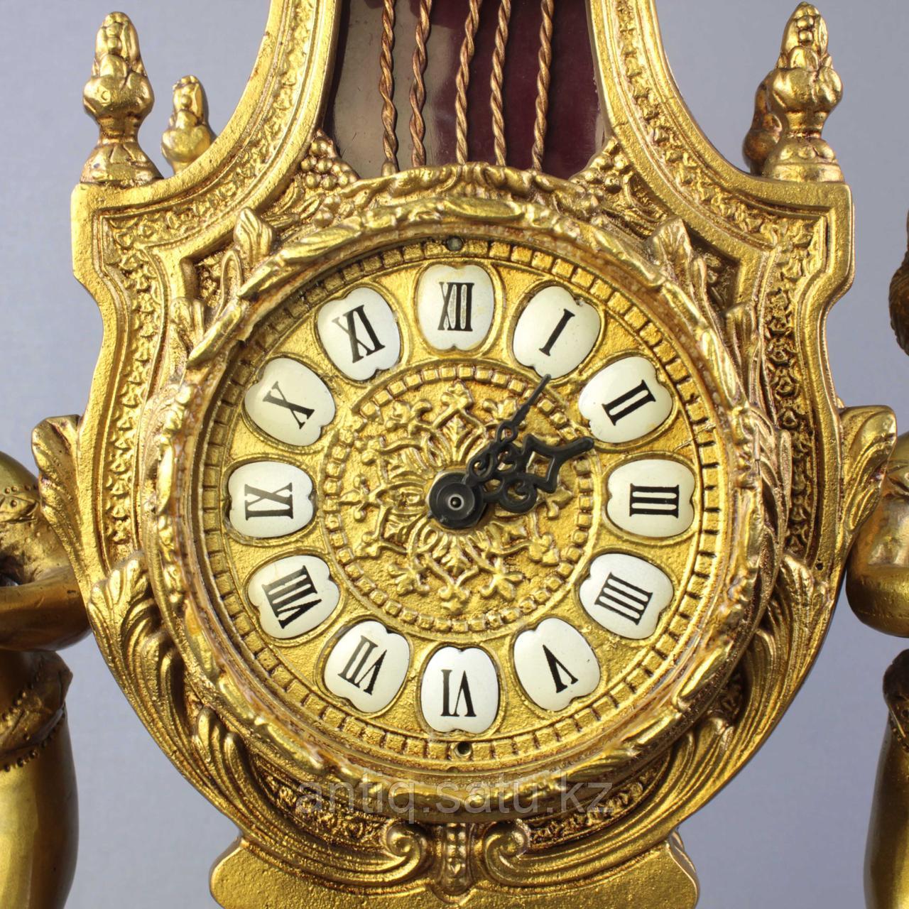 Дворцовые каминные часы. - фото 6