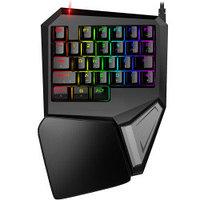 Механиеская игровая клавиатура с подсветкой RGB Delux Game Titan T9 Plus