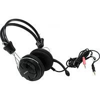 Наушники+микрофон A4Tech HS-28 Black 20Hz-20kHz 32 Om 102dB, 1.8m