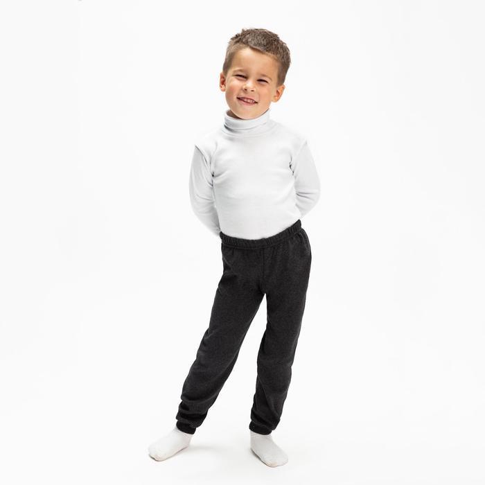 Кальсоны для мальчика, цвет графит, рост 128 см (8)
