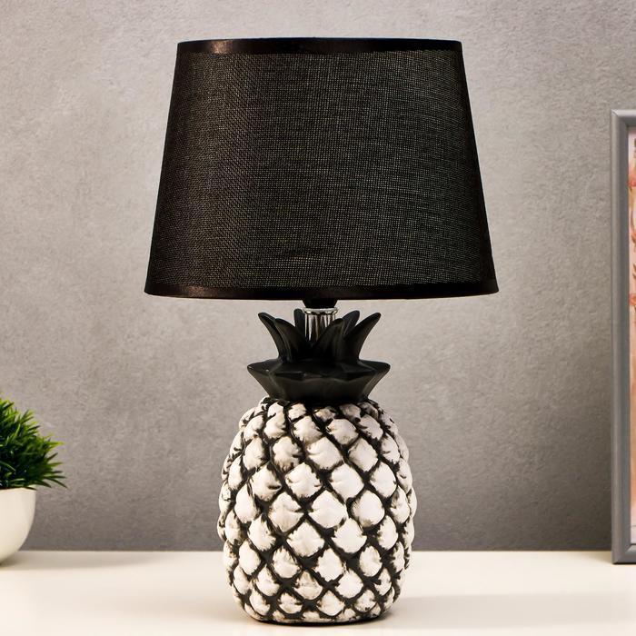 Лампа настольная 16172/1 Е14 40Вт бело-серый 22х22х36 см