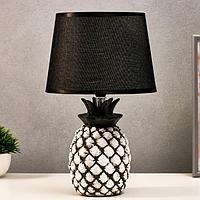 Лампа настольная 16172/1 Е14 40Вт бело-серый 22х22х36 см, фото 1