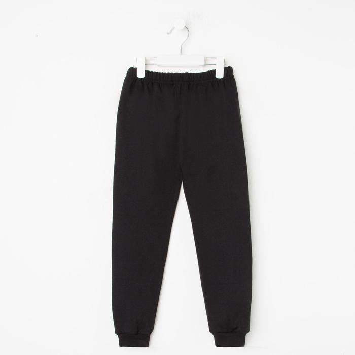 Кальсоны для мальчика, цвет чёрный, рост 140 см (10)