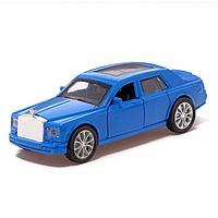 Машина металлическая «Престиж», 1:32, инерция, открываются двери, цвет синий, фото 1