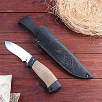 Нож охотничий «Ратник» Н31, ст. ЭИ107, рукоять текстолит, орех, 23 см, фото 1